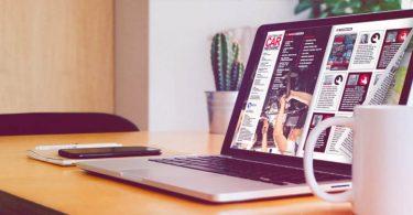 Flipbook creator sul laptop