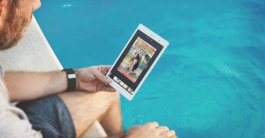 Flipbook online sul tablet