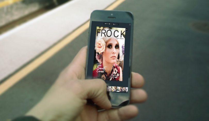 Flipbook PDF sul smartphone