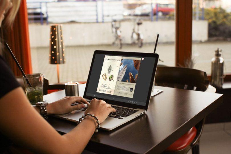 PDF to Flipbook sul laptop